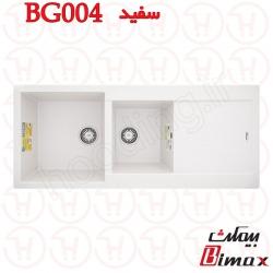 سینک گرانیتی بیمکث مدل BG-004 سفید