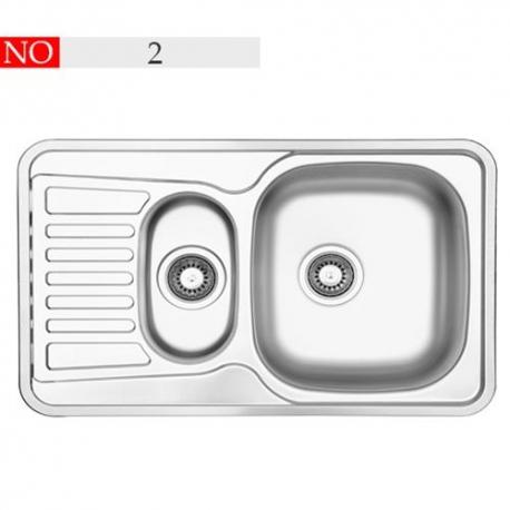 سینک توکار فرامکو مدل 2