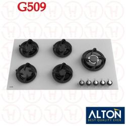 اجاق گاز 5 شعله شیشه ای آلتون مدل G509
