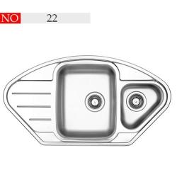 سینک توکار فرامکو مدل 22