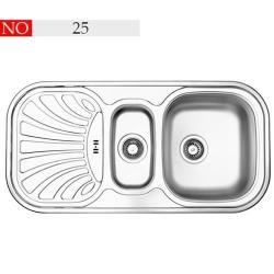 سینک توکار فرامکو مدل 25