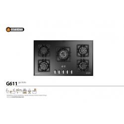 اجاق گاز درخشان کد G611