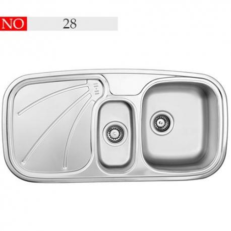 سینک توکار فرامکو مدل 28