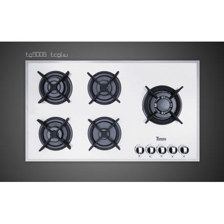 اجاق گاز شیشه سفید مس مدل TG9005 w