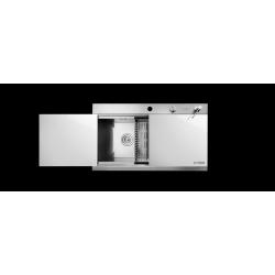 سینک شیشه سفید کلایبرگ مدل LUXURY White