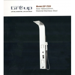 پنل دوش استیل مات گروپ مدل 7032/2