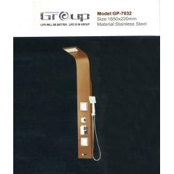 پنل دوش استیل مسی گروپ مدل 7032/3