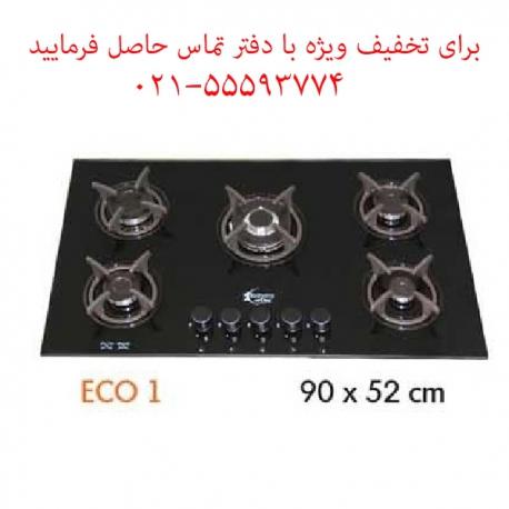 اجاق گاز شیشه ای آروما مدل ECO1