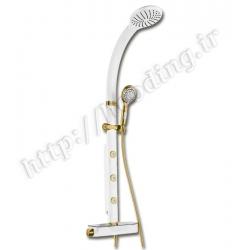 یونیورست ملودی مدل آدولفو سفید طلایی